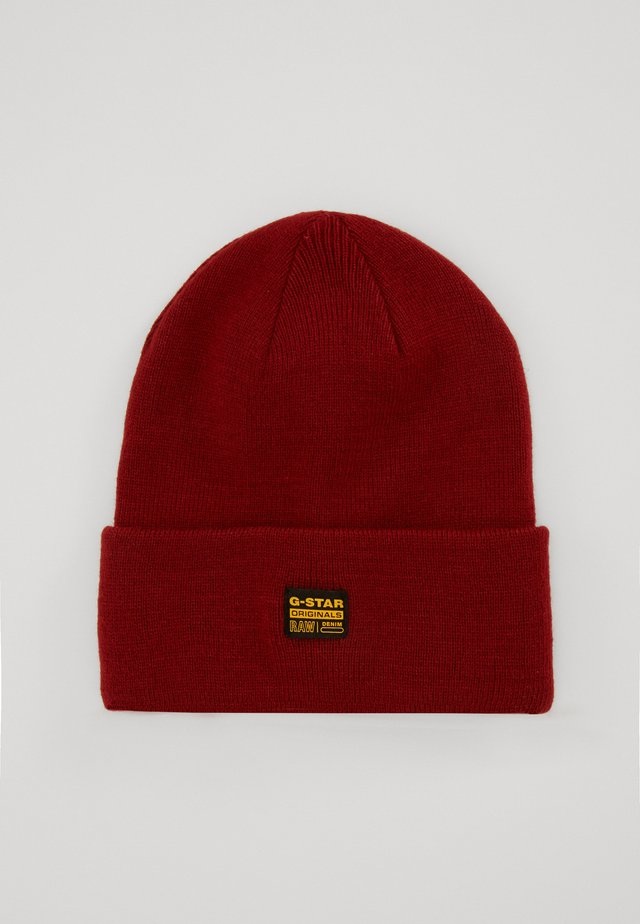 EFFO BEANIE LONG - Muts - dry red