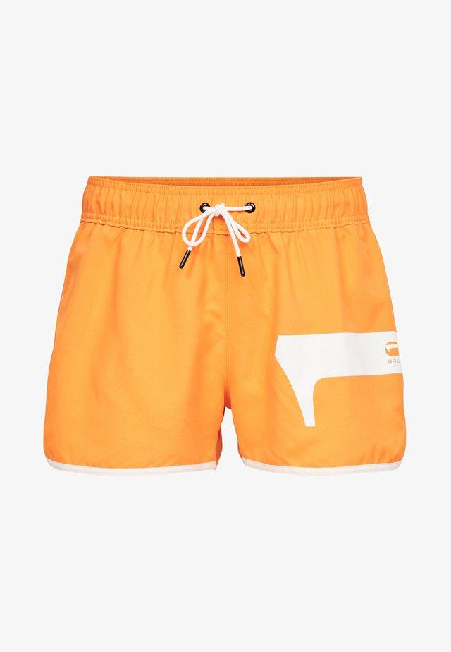 DENDS - Zwemshorts - orange