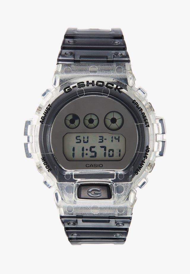 Digital watch - clear