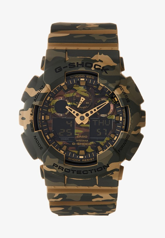 Chronograph watch - camo