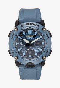 G-SHOCK - CAMOUFLAGE DIAL - Hodinky se stopkami - blue - 0
