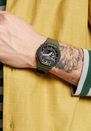 LAYERED BEZEL - Kronografklockor - green