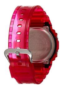 G-shock - DW-5600 SKELETON - Digitalklocka - red - 1