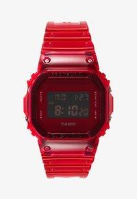 G-shock - DW-5600 SKELETON - Digitalklocka - red - 0