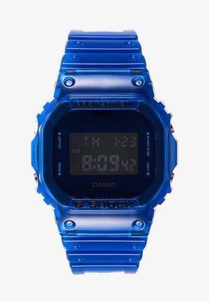 DW-5600 SKELETON - Digitaluhr - blue