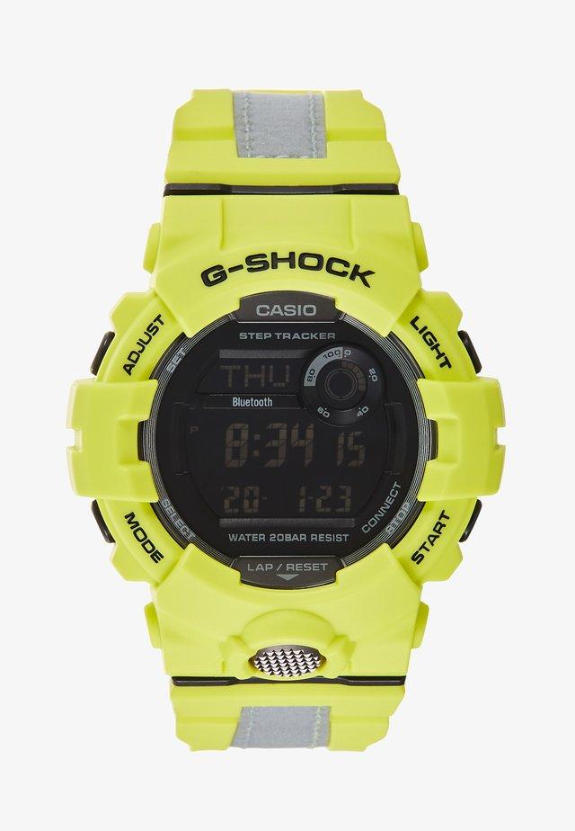 GBD-800 G-SQUAD REFLECTOR - Digital watch - neon/silver