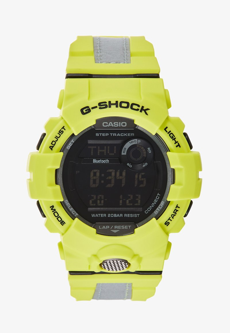 G-shock - GBD-800 G-SQUAD REFLECTOR - Digital watch - neon/silver