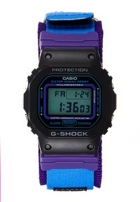 G-SHOCK - DW-5600 THROWBACK SET - Digital watch - black/purple - 2