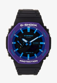 G-shock - GA-2100 THROWBACK SET - Watch - black /purple - 0