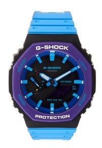 G-shock - GA-2100 THROWBACK SET - Watch - black /purple - 1