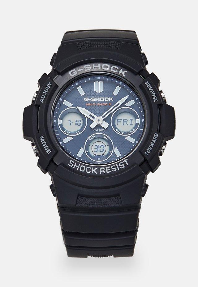 Kronografklockor - black/blue