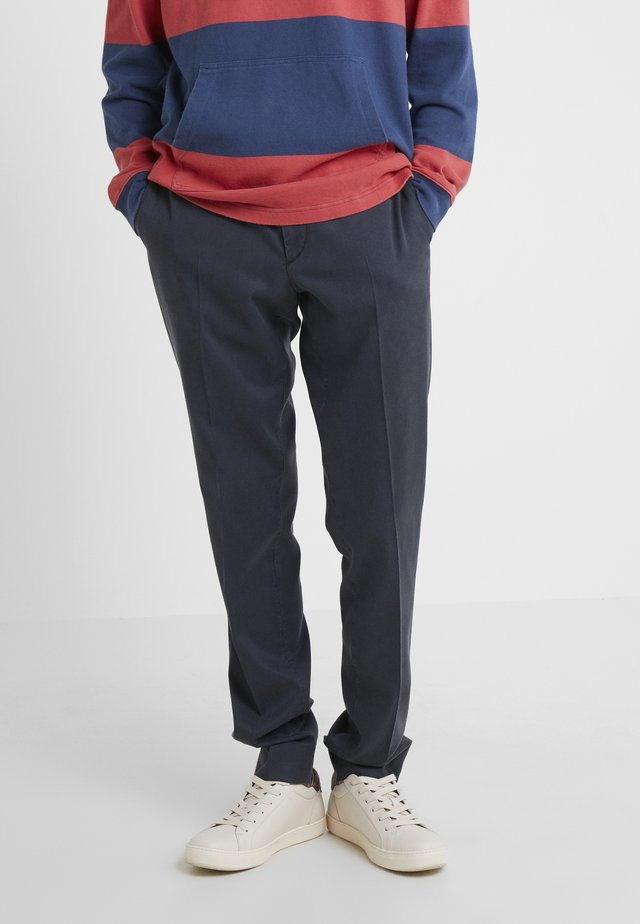 DAVIDE - Trousers - navy