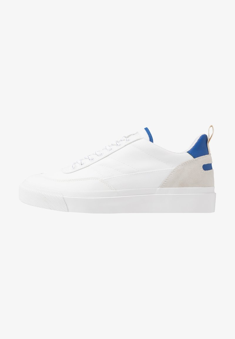 Goliath - NUMBER THREE - Sneakersy niskie - white/electric blue