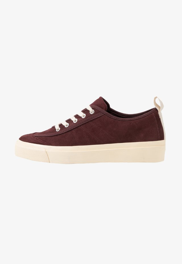 NUMBER ONE - Sneakersy niskie - burgundy