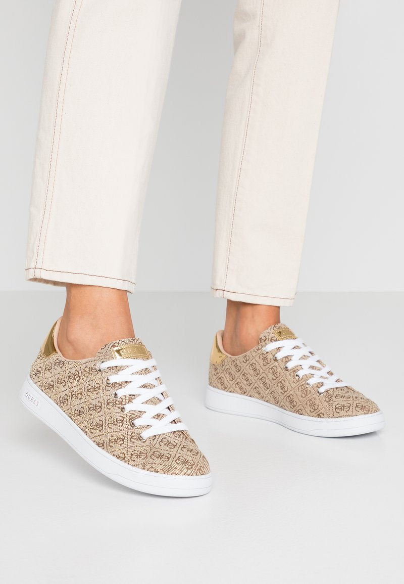 Guess - CATER - Sneakers - beige/light brown