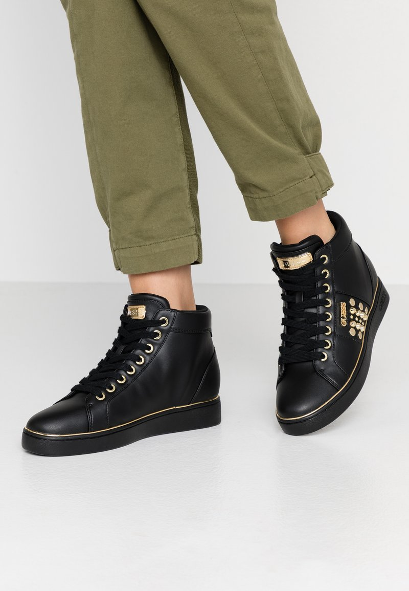 Guess - BEKANN - Sneaker high - black