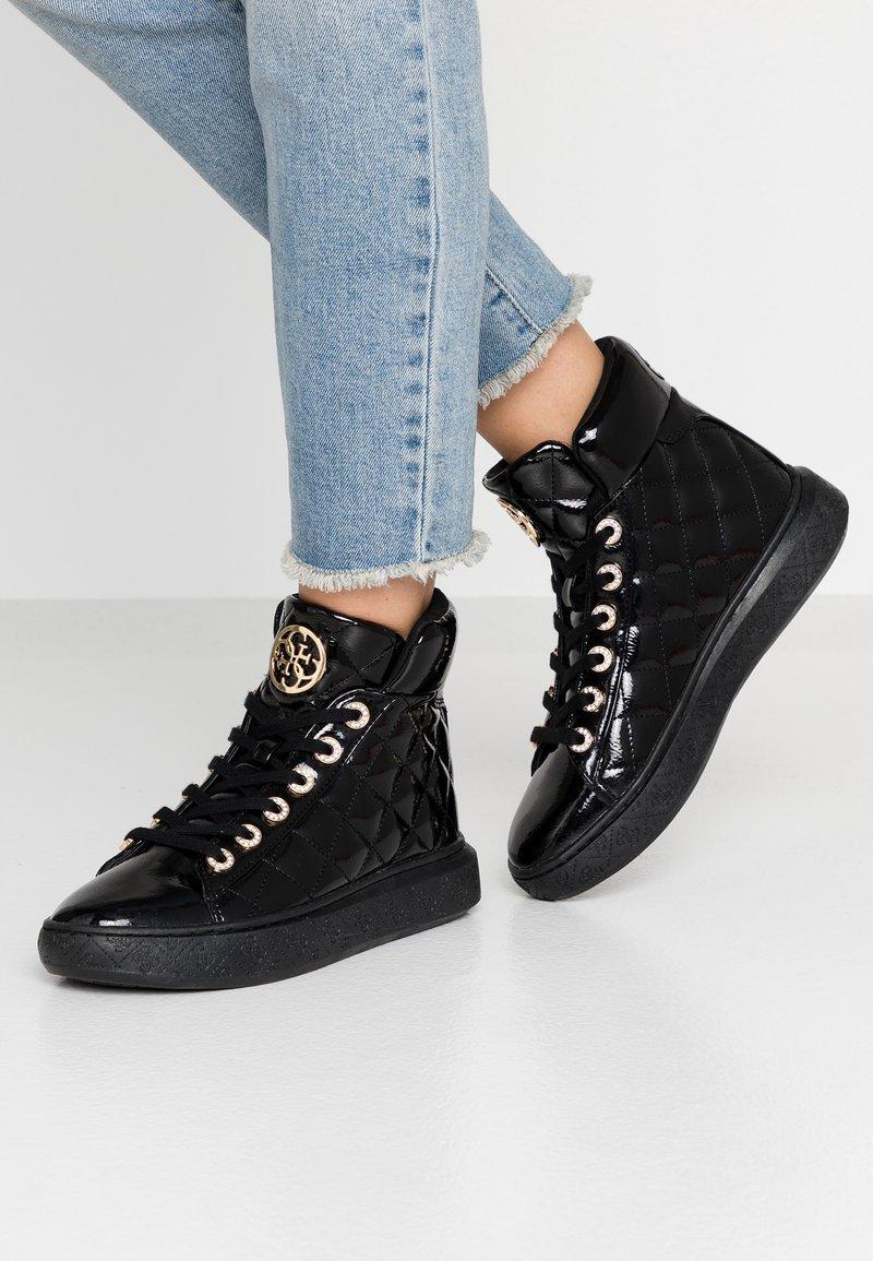 Guess - BECKEE - Sneakers hoog - black