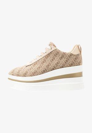 KEENIE - Zapatillas - beige/light brown