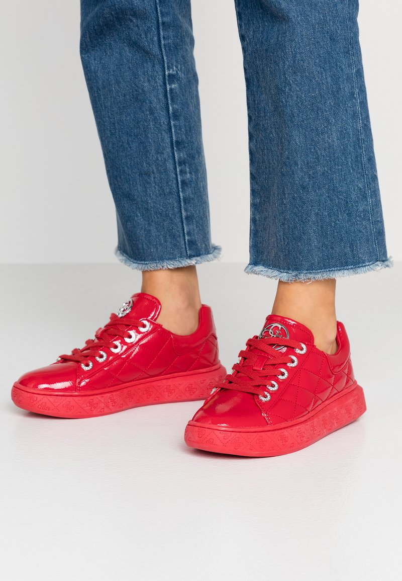 Guess - BECKS - Trainers - red