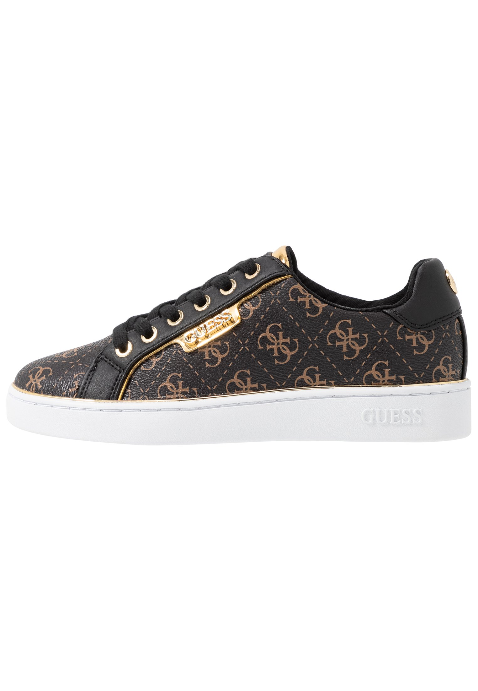 Guess Banq Sneakersy Damskie Obuwie Sneakersy ze wzorem