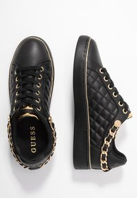Guess - BRISCO - Sneakers - black/gold - 3