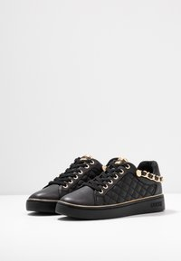 Guess - BRISCO - Sneakers - black/gold - 4