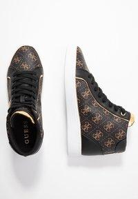 Guess - BRINA - Sneakers high - bronze/black - 3