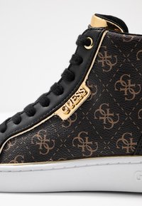 Guess - BRINA - Sneakers high - bronze/black - 2