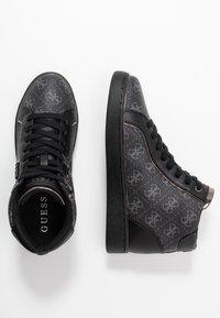 Guess - BRINA - Sneaker high - black/grey - 3