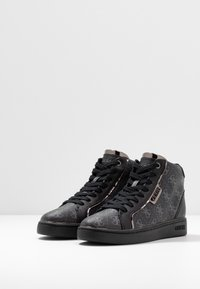 Guess - BRINA - Sneakers hoog - black/grey - 4