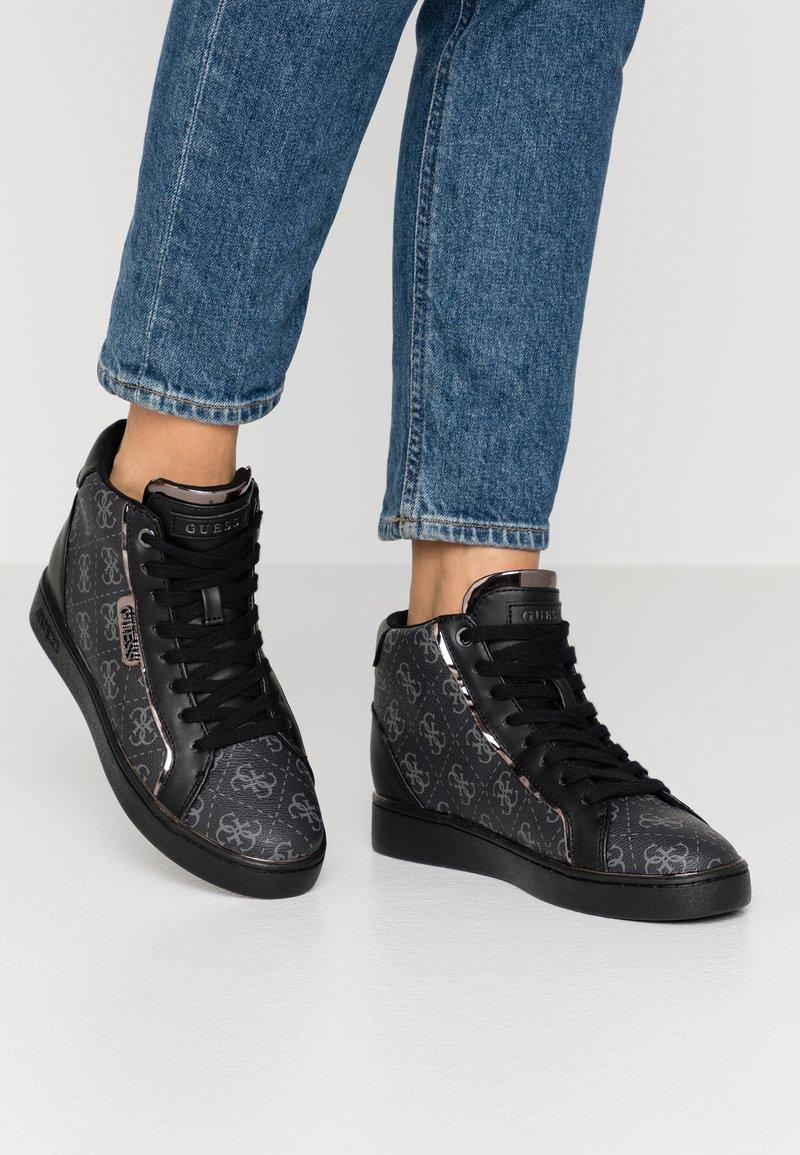 Guess - BRINA - Sneaker high - black/grey
