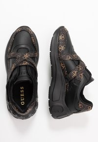 Guess - STAYCEE - Trainers - black/brass - 3