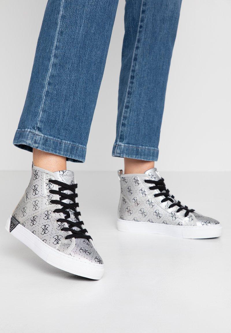 Guess - GABRI - Sneaker high - silver