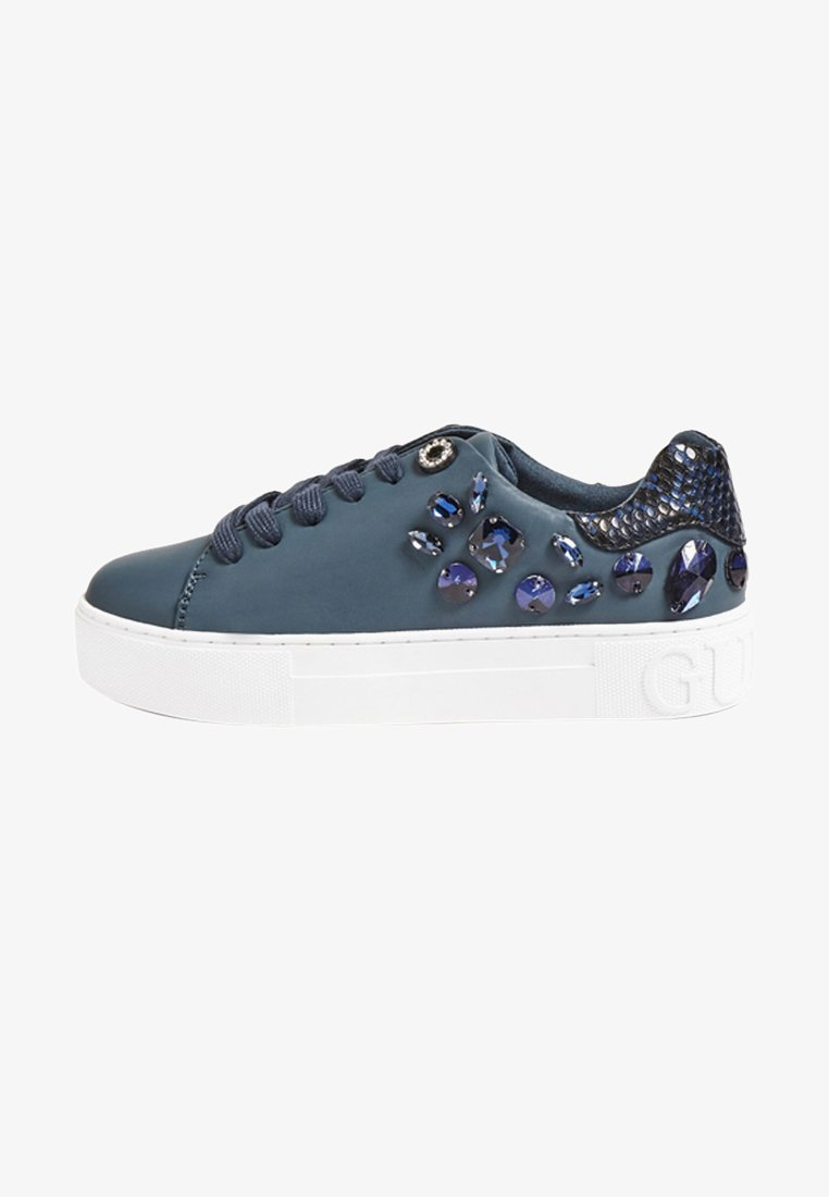 Guess - MARXIN - Sneakers laag - dark blue