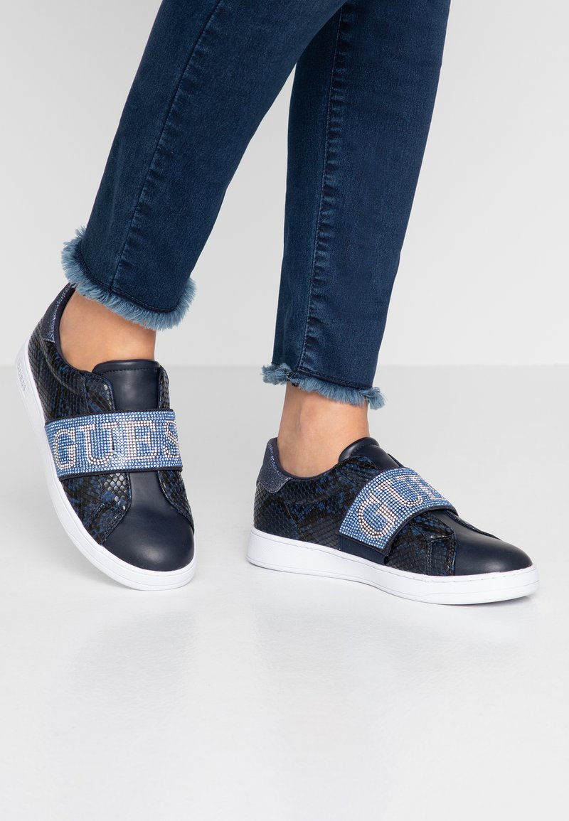 Guess - CONNUR - Slip-ons - navy