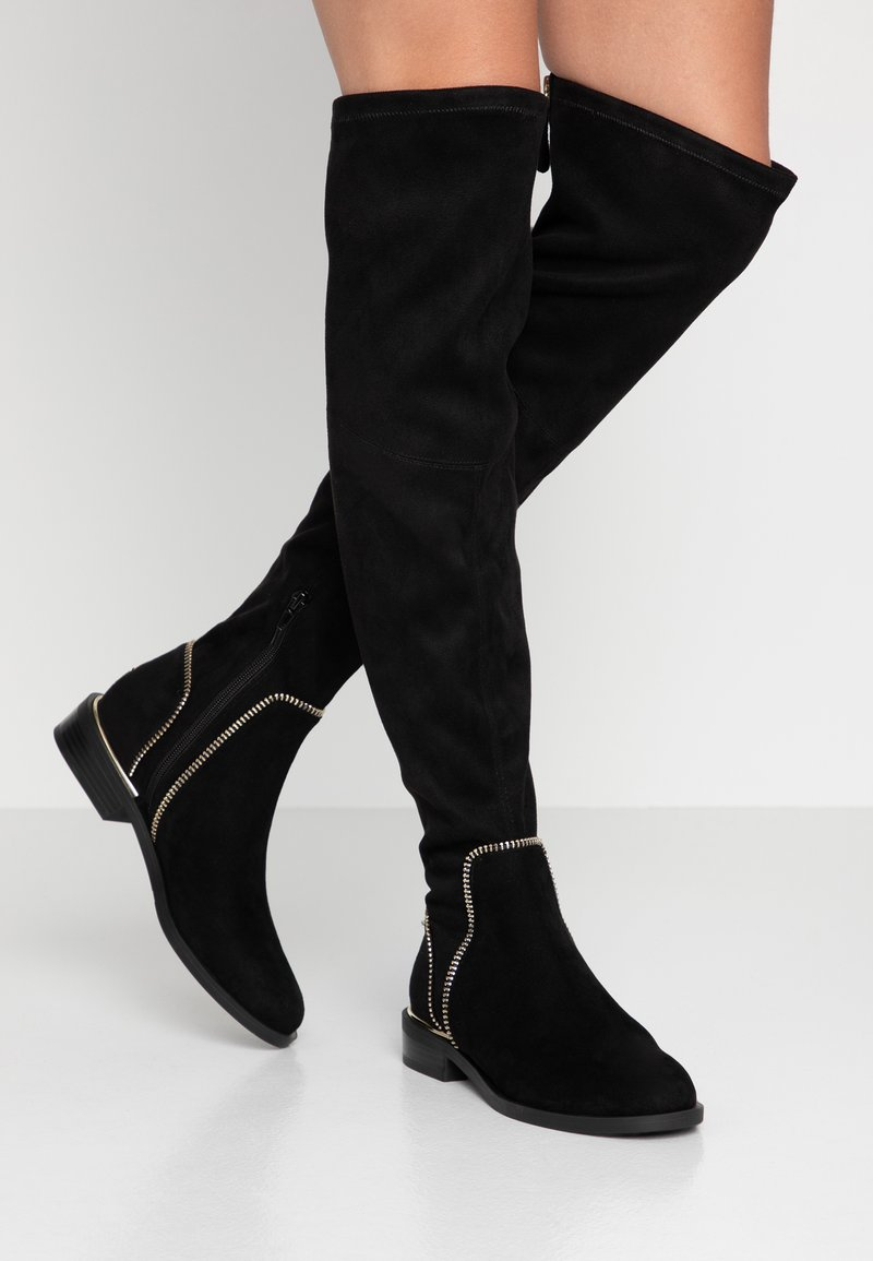 Guess - DACIANE - Høye støvler - black