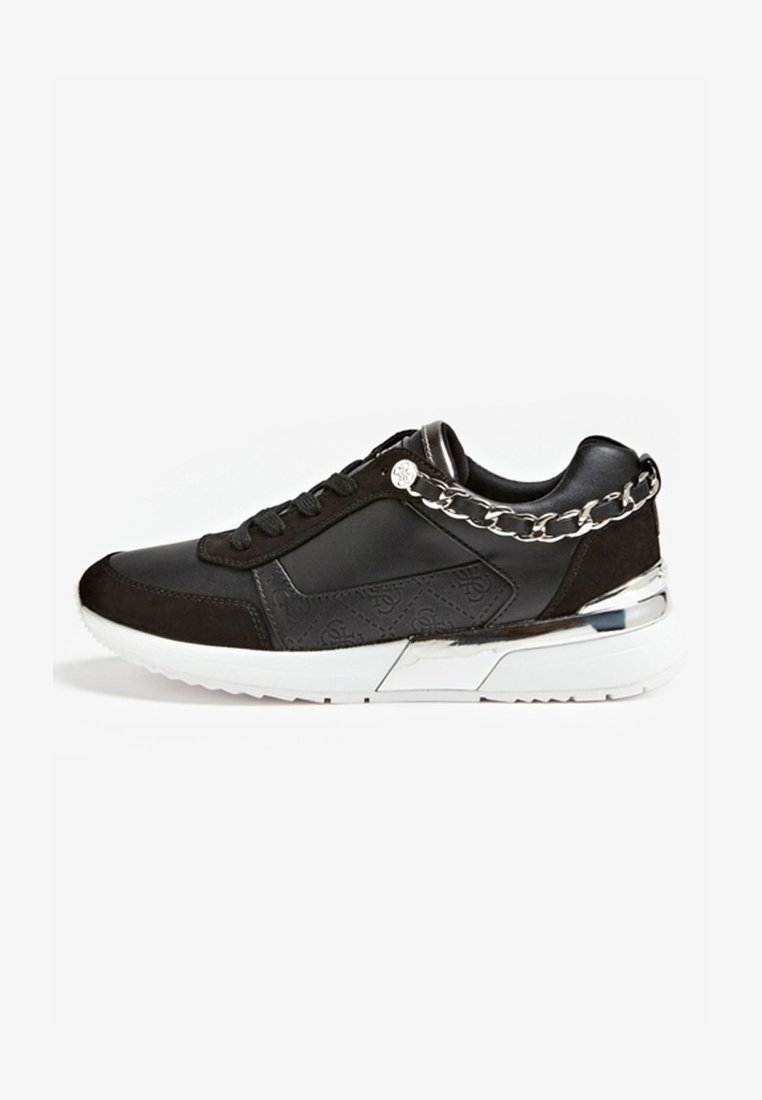 Guess - BASKET MIAN CHAINE - Sneaker low - black