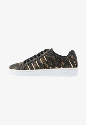 BOLIER - Sneakers basse - brown/gold
