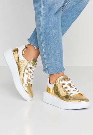 BRAYLIN - Sneakers laag - gold