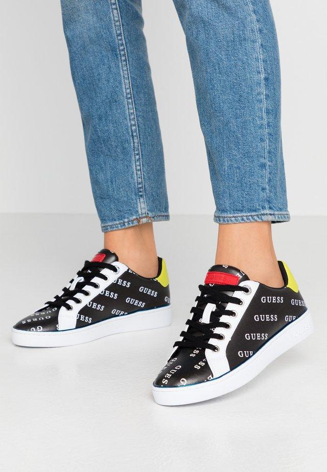BRADLIA - Sneakers laag - black/white