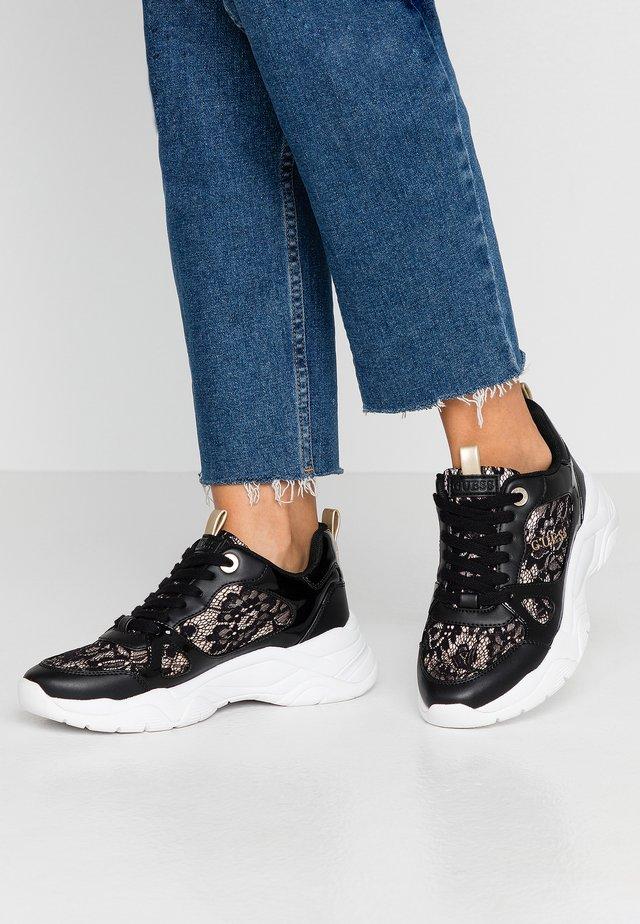 FLAUS - Sneakers laag - black