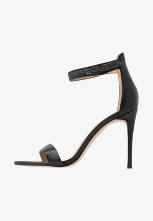 KAHLUN - Sandaler med høye hæler - black