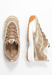 Guess - KAYSIE - Sneakers - beige/brown - 3