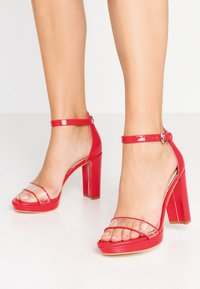 Guess - OMERA - High Heel Sandalette - red - 0