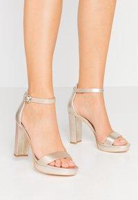 Guess - OMERE - High heeled sandals - platin - 0