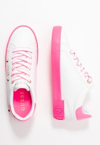 Guess - PUXLY - Trainers - white/pink - 3