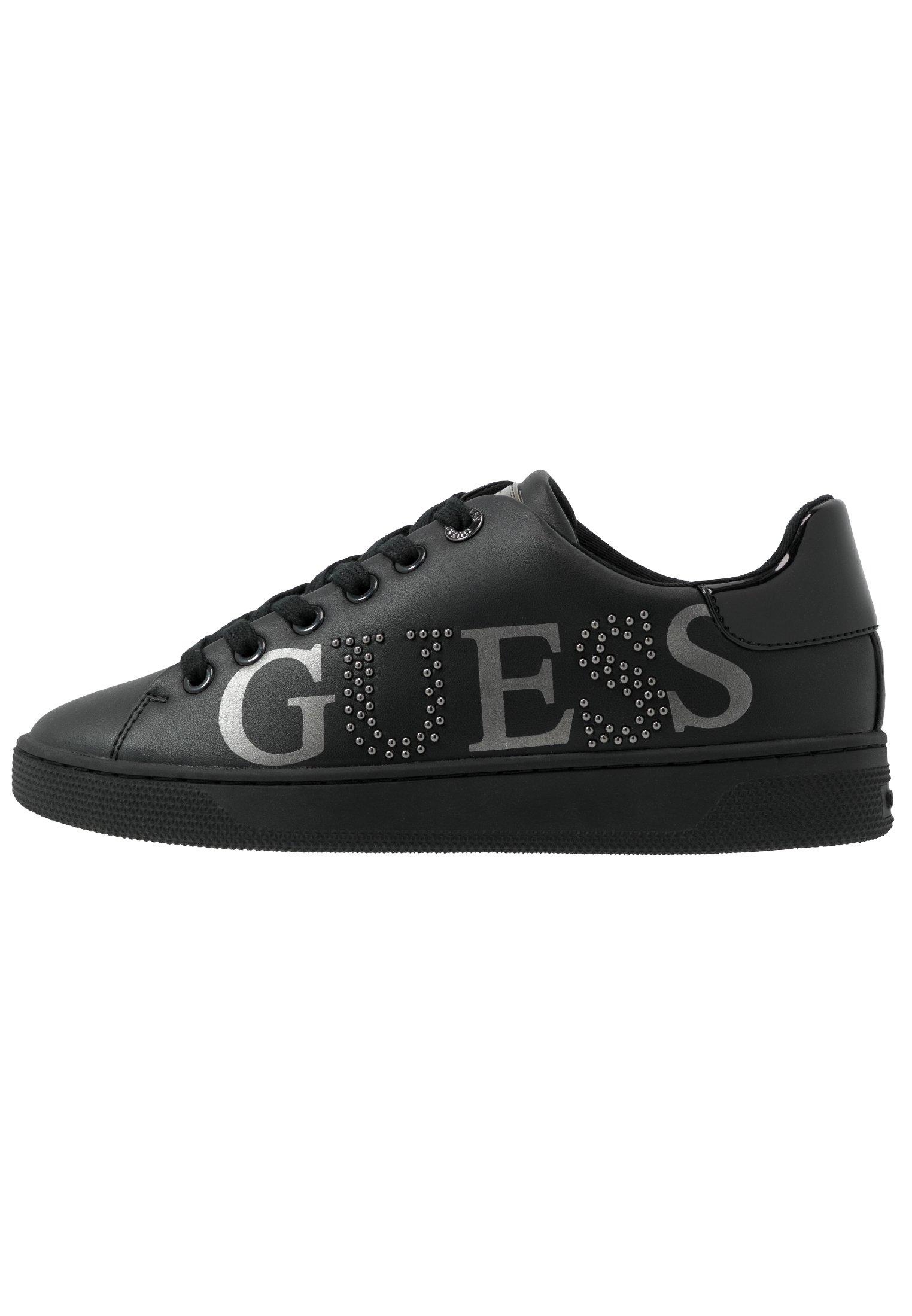 Guess Riderr - Baskets Basses Black 1tbveHI
