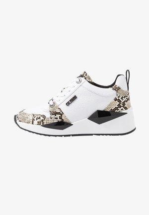 TALLYN - Sneakers basse - white, black