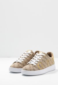 Guess - RIDERR - Sneakers basse - beige/brown - 4