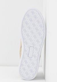 Guess - RIDERR - Sneakers basse - beige/brown - 6